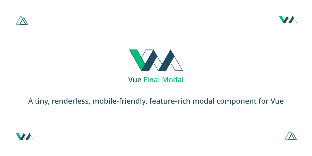 Vue Final Modal Logo
